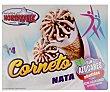Cono de helado de nata, sin azúcares añadidos Pack 4 x 110 ml Nordwik