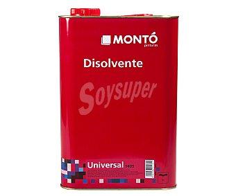 MONTÓ Disolvente universal 1405 250 mililitros