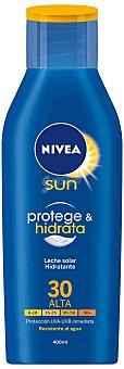 Nivea Sun Leche solar hidratante FP-30 resistente al agua Frasco 400 ml