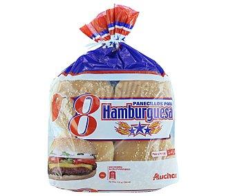 Auchan Pan para hamburguesa con sésamo 8 uds.
