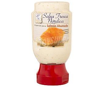 Ahumados Domínguez Salsa fresca nórdica especial para salmón Tarro 185 g