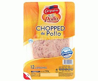 Campofrío Chopped Pollo Lonchas 150 Gramos