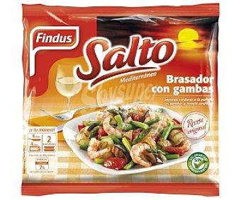 SALTO de FINDUS Verduras con Gambas Bolsa 500 Gramos