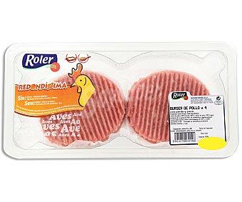 Roler Burger de pollo con cerdo y pavo 4 unidades de 320 gramos