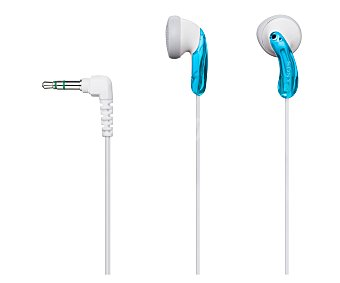 SONY MDRE9LPL.AE Auricular intrauditivo con cable, color azul