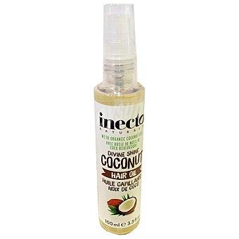 Inecto Aceite brillo capilar de coco Spray 100 ml