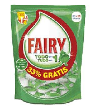 Fairy Lavavajillas maquina ultracaps pastilla 82 ud
