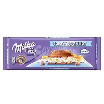 Milka Chocolate crispy joghurt Tableta 300 g