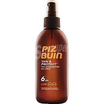 PIZ BUIN Tan & Protect aceite bronceador FP-6 spray 150 ml