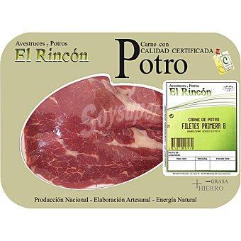 RINCON Filetes 1ªB de potro peso aproximado Bandeja 400 g