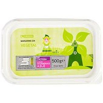 Eroski Margarina vegetal Tarrina 500 g