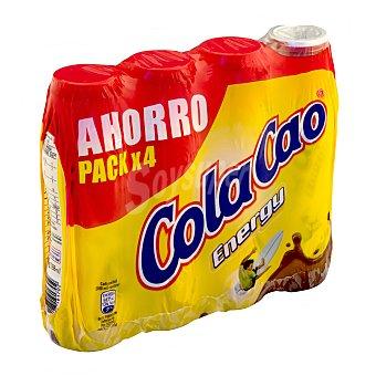 Cola Cao Batido chocolate energy Botellin pack 4 x 188 cc - 752 cc