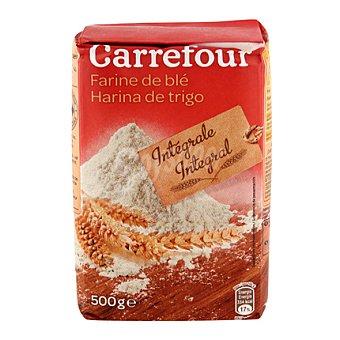 Carrefour Harina de trigo integral 500 g
