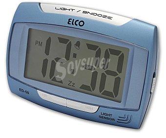 ELCO Despertador digital ED-50 con números grandes con números grandes