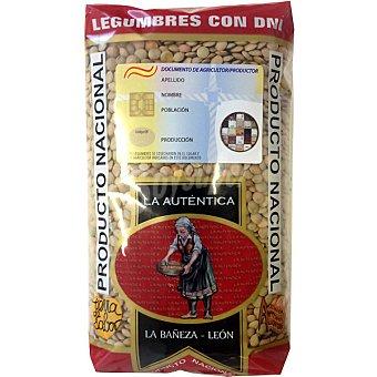 la Autentica Lenteja castellana de la Bañeza León con DNI Envase 1 kg
