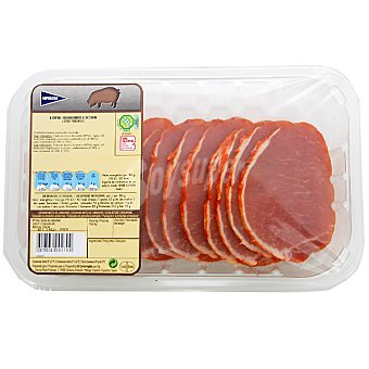 Hipercor Lomo adobado extra de cerdo en filetes peso aproximado Bandeja 300 g