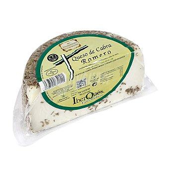 Iberques Queso de cabra semicurado al romero de Extremadura Pieza 450 gramos