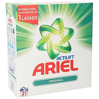 Ariel Detergente lavadora en polvo actilift Caja 32 dosis