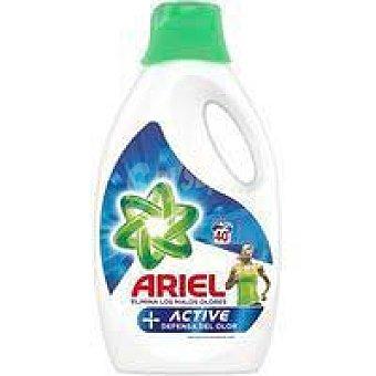 Ariel Detergente líquido Active ariel, garrafa 40 dosis Garrafa 40 dosis