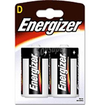 Energizer Pilas alcalina LR20 2 unidades