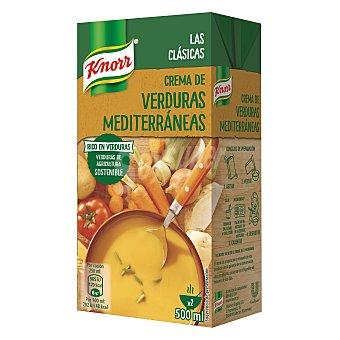 Knorr Crema de Verduras Mediterráneas Brick 500 ml