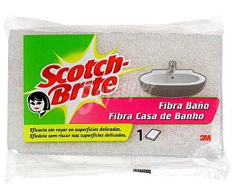 Scotch Brite Estropajo Fibra Blanca 1 Unidad
