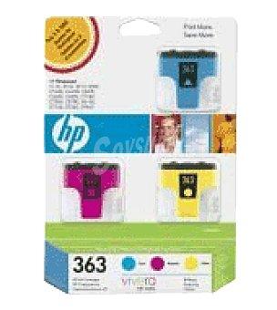 HP Cartucho tintas 363