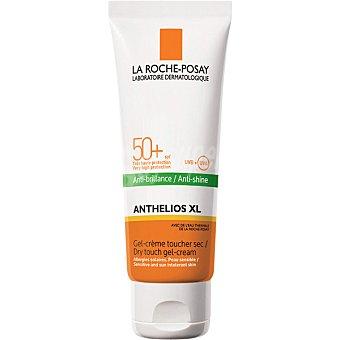 La Roche-Posay Anthelios XL gel crema toque seco solar SPF 50+ anti-brillos tubo 50 ml Tubo 50 ml
