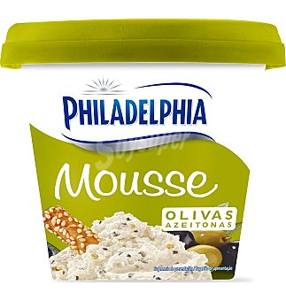 Philadelphia Queso mousse olivas 130 G