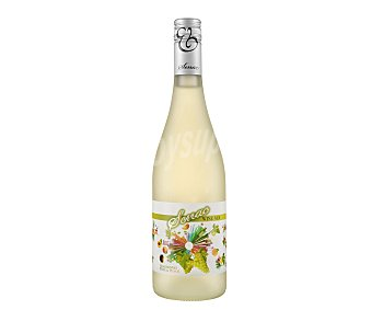 SENAC Vino Blanco Chardonnay y Melecotón Botella de 75 cl