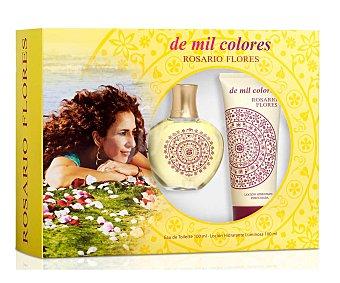 Rosario Flores Colonia De Mil Colores edt+body 100 Mililitros+100Mililitros