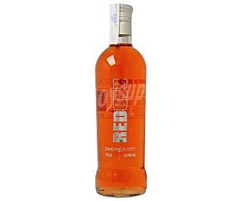 DWORAKOFF Licor Rojo Vodka 20º 70 Centilitros