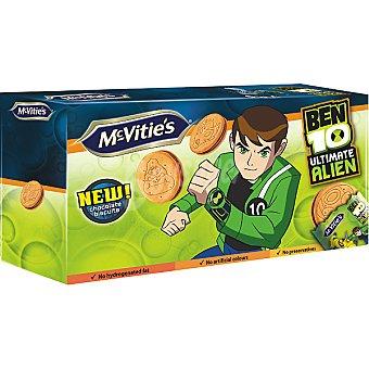 McVities Ben 10 galletas rellenas de chocolate estuche 168 g Estuche 168 g