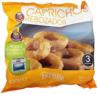 Hacendado Capricho de calamar anillas congelado Paquete 400 g