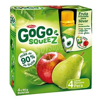 Gogo Squeez Manzana y pera triturados 4 ud