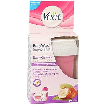 Veet Easy wax cera roll on eléctrico piernas y brazos recambio caja 50 ml Caja 50 ml