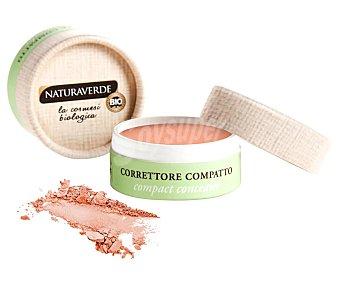 Naturaverde Corrector compacto con textura cremosa, tono 002 Naranja NATURAVERDE.