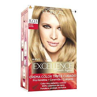 L'ORÉAL Excellence Tinte blonde legend nº 8.03 Rubio Divino 1 ud