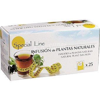 Special Line Infusión de plantas naturales control de peso Estuche 25 unidades