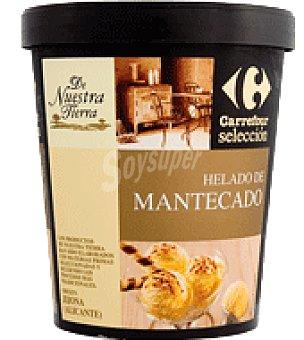 Carrefour Selección Helado de mantecado 500 ml