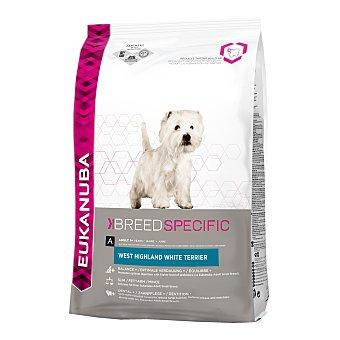 Eukanuba Pienso para perros adultos Eukanuba West Highland White Terrier 2,5 Kg 2,5 Kg
