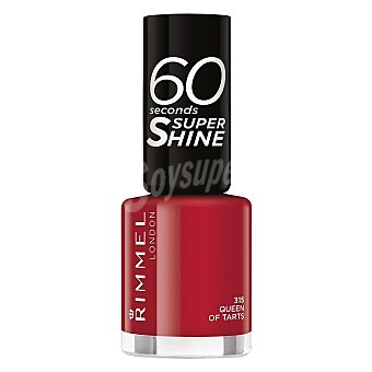 rimmel Laca de uñas 60 secons Super Shine 315 Queen of Tarts Rimmel 1 ud