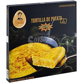 LA COCINA DE SENÉN Tortilla de patata gourmet sin cebolla elaboración artesanal lista en 8 minutos bandeja 700 g 8 bandeja 700 g
