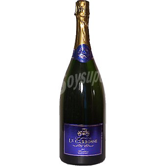 LE CARROSSE Champagne brut tradition magnum 1,5 l 1,5 l