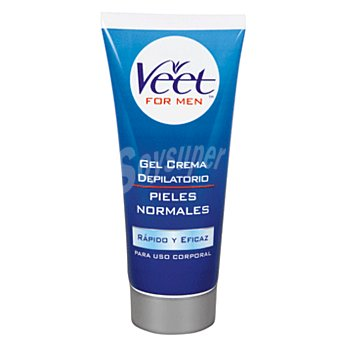 Veet Veet for Men Gel Crema Depilatorio Corporal Pieles Normales 200 ml
