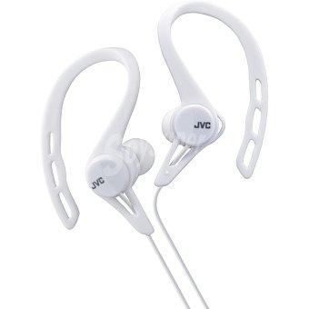Jvc Auriculares deportivos de botón en color blanco HA-ECX20-W-E 1 Unidad