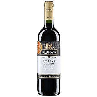 Berberana Vino tinto reserva D.O. Jumilla 1877 Botella 75 cl