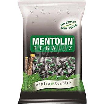 Mentolín Caramelos sabor regaliz sin azucar Bolsa 115 g