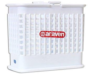 Araven Escurre cubiertos de rejilla, fabricado en plástico color blanco, drenaje inferior, 24x16x28 centímetros 1 Unidad