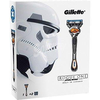 GILLETTE FUSION PROGLIDE Flexball Pack con maquinilla de afeitar + 2 cargadores Estuche 1 unidad